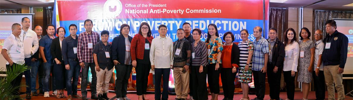 NAPC Forum on Poverty Reduction