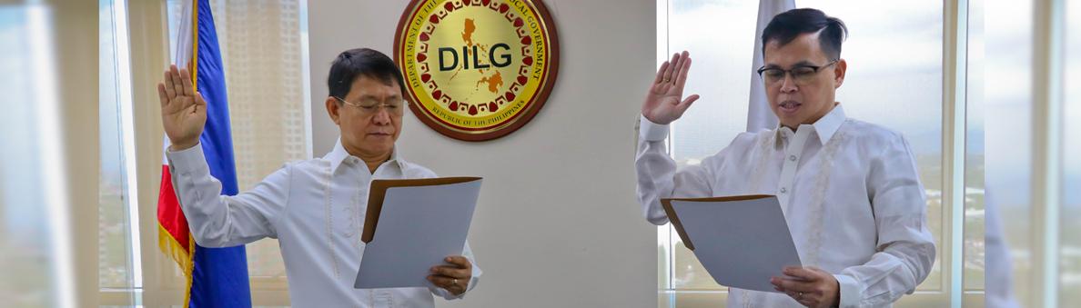 Oath Taking of ASEC Cruz