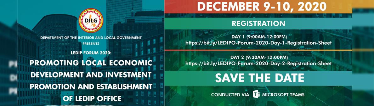LEDIPO Dec. 9-10, 2020