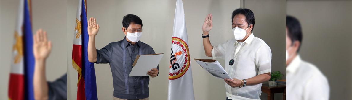 SILG with Mayor Olivarez