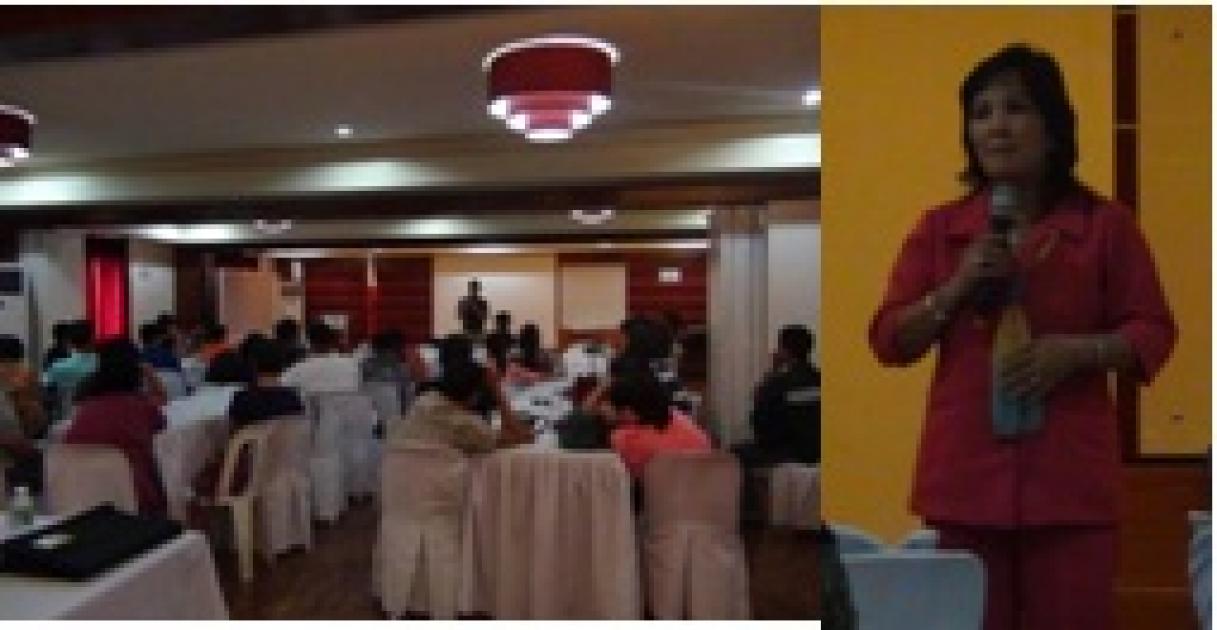 Dir Dijan gives welcome remarks on seminar workshop of LSP